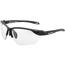 Alpina Twist Five HR S VL+ Lunettes, black matt